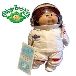 Unused 1986 Cabbage Patch Kid Young Astronaut Boy